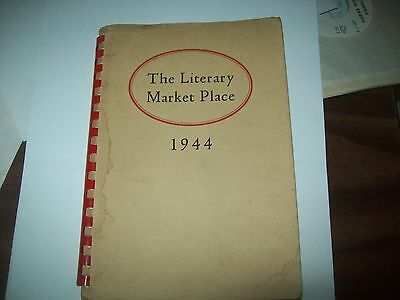 The Literary market place  sc book 1944 with publisher's lists