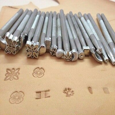 Leather Working Saddle Making Tools Set DIY Craftool Leather Craft Stamps New