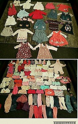 baby Girls clothes bundle 3-6 Months 127 items