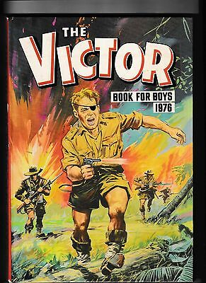 Victor Book For Boys 1976 Not Price Clipped No Writing In Very Good Condition
