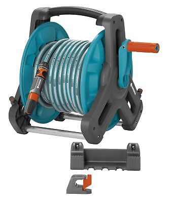 Gardena Classic Wall Hose Reel 50 Set 8009 Complete with 20M Hose