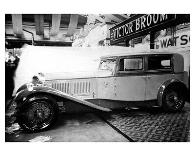1928 Bentley by Victor Broom ORIGINAL Photo ouc6248