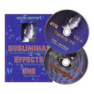 Zaubertrick Subliminal Effekten (CD-Set) von Kenton Knepper