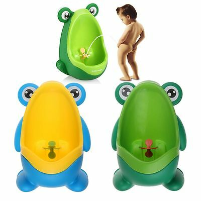 Frog Children Potty Toilet Training Kids Urinal for Boys Pee Trainer Bathroom US