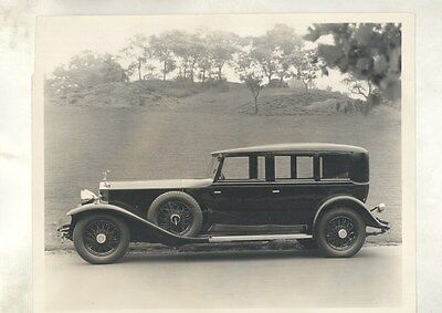 1932 ? Rolls Royce Phantom II Huntington Brewster ORIGINAL Factory Photo ww6699