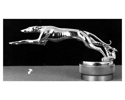 1926 Lincoln Greyhound Radiator Ornament Cap ORIGINAL Factory Photo ouc6532