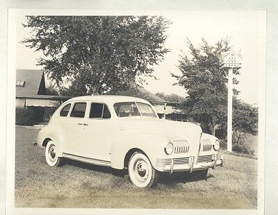 1941 Nash Sedan ORIGINAL Factory Photograph ww6722