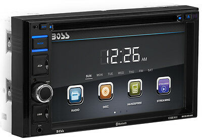 "Boss Audio BV9364B 2-Din 6.2"" In-Dash Car Bluetooth DVD Receiver w/ USB/SD/AUX"