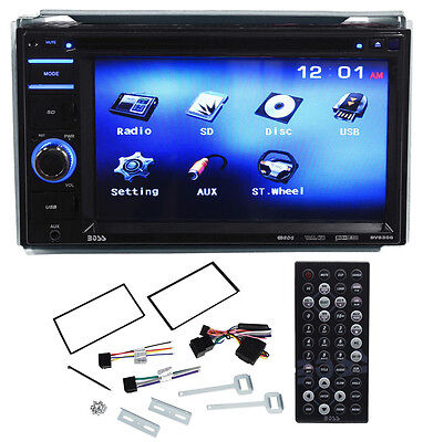 "Boss BV9356 6.2"" Double DIN Car Monitor DVD/USB/SD Player Radio Receiver"