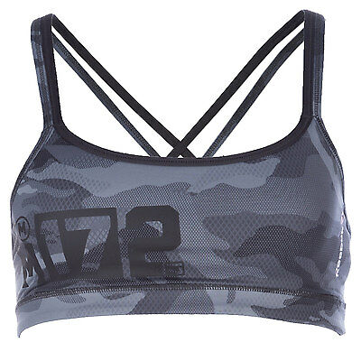 Womens Reebok Womens Hero Strength Camo Bra 2.0 in Grey - 4-6 From Get The Label