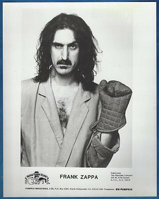 Frank Zappa Publicity/Press Photo Mothers of Invention Captain Beefheart