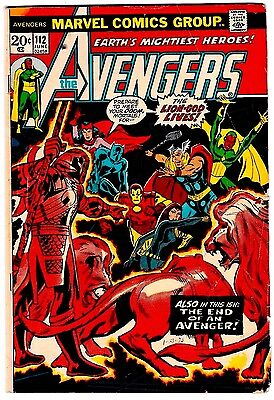AVENGERS #112 First Appearance of MANTIS! Guardians of the Galaxy Vol.2 LQQK