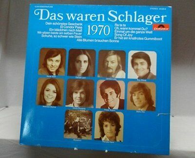Das waren Schlager 1970 Karel Gott, Daliah Lavi, James Last, Roy Black, W.. [LP]