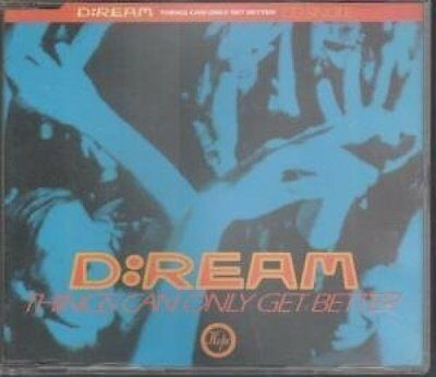 D-Ream Things can only get better (1993) [Maxi-CD]