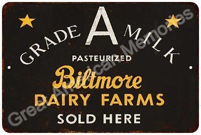Biltmore Dairy Farms Vintage Look Reproduction 8x12 Metal Sign 8124131