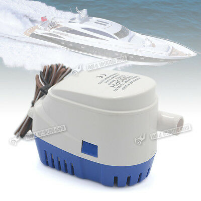 750GPH 12V Automatic Bilge Pump Internal Float Switch for Auto Water Boat