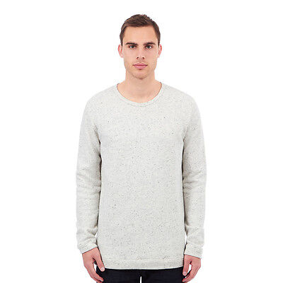 Libertine-Libertine - East Sweater Off White / Smoke Nep Pullover Rundhals