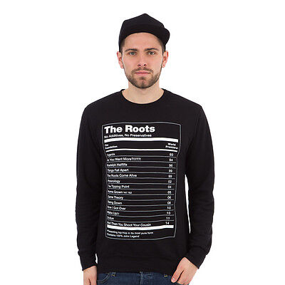 Roots, The - The Ultimate Lightweight Crewneck Sweater Black Pullover Rundhals