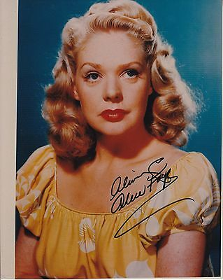 "ALICE FAYE hand signed autographed 8x10 photograph photo ] ""Always"""