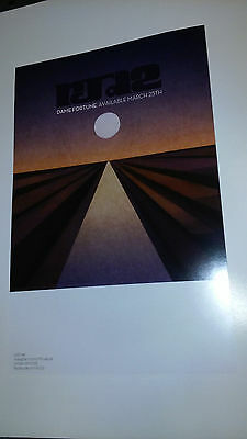 Lot of POSTERS rjd2 Dame Fortune for the new release album vinyl cd dj