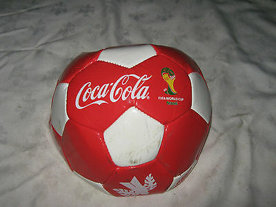 2014 FIFA World Cup Brasil Coca Cola  Fully Sponsered Soccer Football