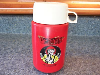 PHOTON The Ultimate Game On Planet Earth THERMOS  Vintage 1987 DIC Animation