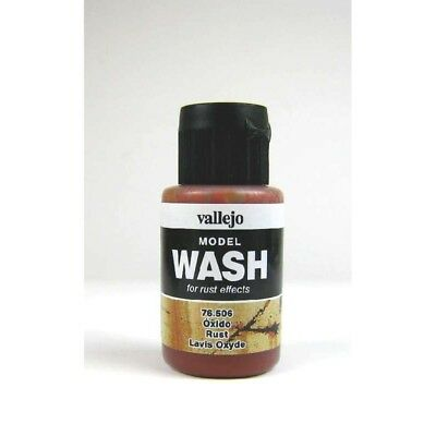 (12,54€/100ml) Vallejo Model Wash Rust Wash 35ml 76506 Farbe