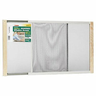 Frost King WB Marvin AWS1537 Adjustable Window Screen, 15in High x Fits 21-37in