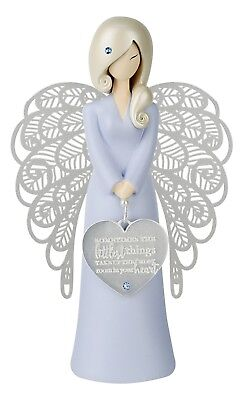 You Are An Angel The Little Things Resin Figurine Sentiment Keepsake Baby Boy