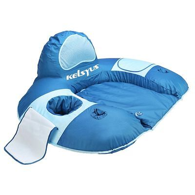 SwimWays River Rider Lounger Swimming Pool Floating Chair Holds up to 250 Lbs