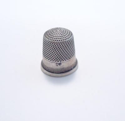 Sterling Silver Vintage #9 Thimble ~ 2.8 grams ~ 7-B328