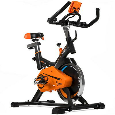 Bicicleta indoor spinning ajustable display LCD volante inercia 21kg –Fitfiu