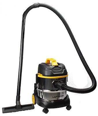 Laptronix Wet And Dry Vacuum Vac Cleaner Industrial 20Ltr 1400W Stainless Steel