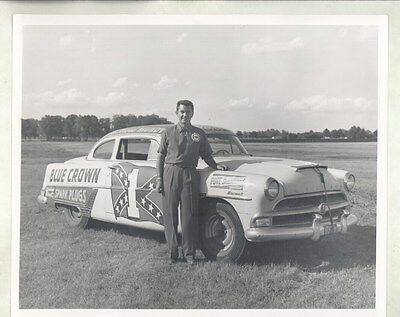 1954 Hudson Hornet Frank Mundy NASCAR Race ORIGINAL Factory Photograph ww6801