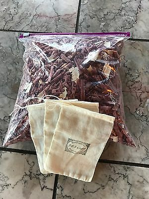 Aromatic  Red Cedar Wood  Chips Shavings 1 gallon bag full repell bugs deodorize