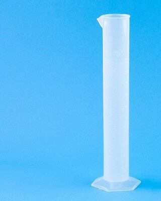 Brand New Graduated 500 Ml Plastic Cylinder With Pour Spout Polypropylene