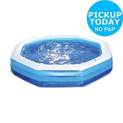 Neighbourhood Inflatable Swim Centre Pool - 10ft - Blue:The Official Argos Store
