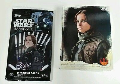 2016 Topps Star Wars Rogue One .. Complete 90 Card Set + Wrapper