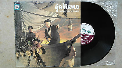 """Galliano – Nothing Has Changed  , D`91, 12"""" Maxi,Vinyl:vg++"""