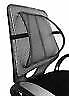 Vinsani Back Pain Support Chair Cool Air Mesh Lumbar Home Office Car Seat Black
