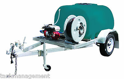 Rapid Spray 1000L Fire Marshal Fire Scout Fire Fighting Trailer - On Farm