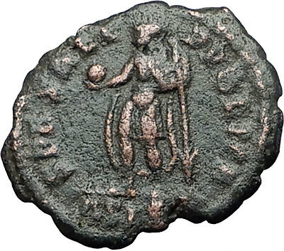 JULIAN II as Caesar w globe 355AD Authentic Genuine Ancient Roman Coin i59584