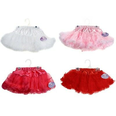 Soft Touch Baby Fully Layered Tutu Skirt 4 Colours