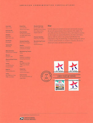 #0212 3c Star Sheet and Coil #3613-3614 Souvenir Page