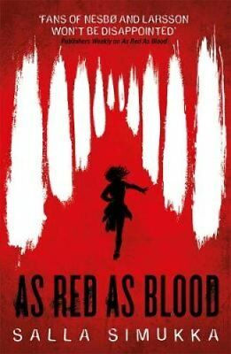 As Red as Blood by Salla Simukka (Paperback, 2017)