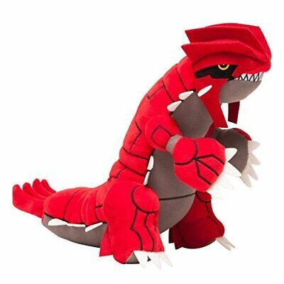 "Pokemon 11"" Plush - GROUDON New 11 Inch (Ruby Sapphire) Stuffed Plushie Doll"