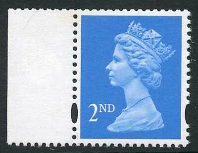 1993 Questa NVI 2nd class in bright blue Phosphor omitted Cat 150 pounds