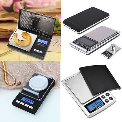 Smart Weigh Digital LCD Balance Weight Milligram Pocket Jewelry Diamond Scale