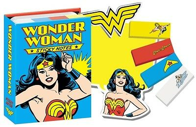 DC Comics Wonder Woman Sticky Notes Brand New In Package