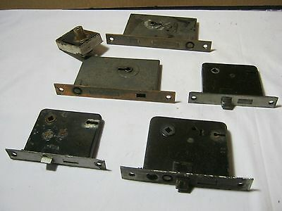 Antique Door Lock Mixed Hardware Lot Architectural Corbin & More!  T*